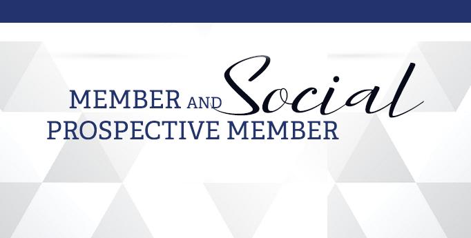 Member and Prospective Member Social