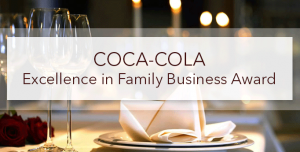 Coca Cola Excellence in Family Business Award