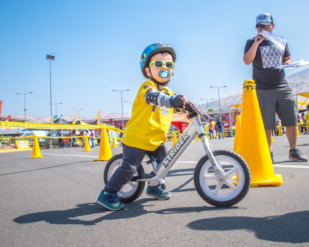 Hitting their stride: Family business goes global with Strider balance bikes