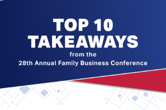 top 10 takeaways from conference graphic