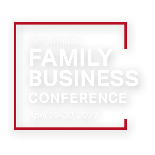 2021 family business conference logo