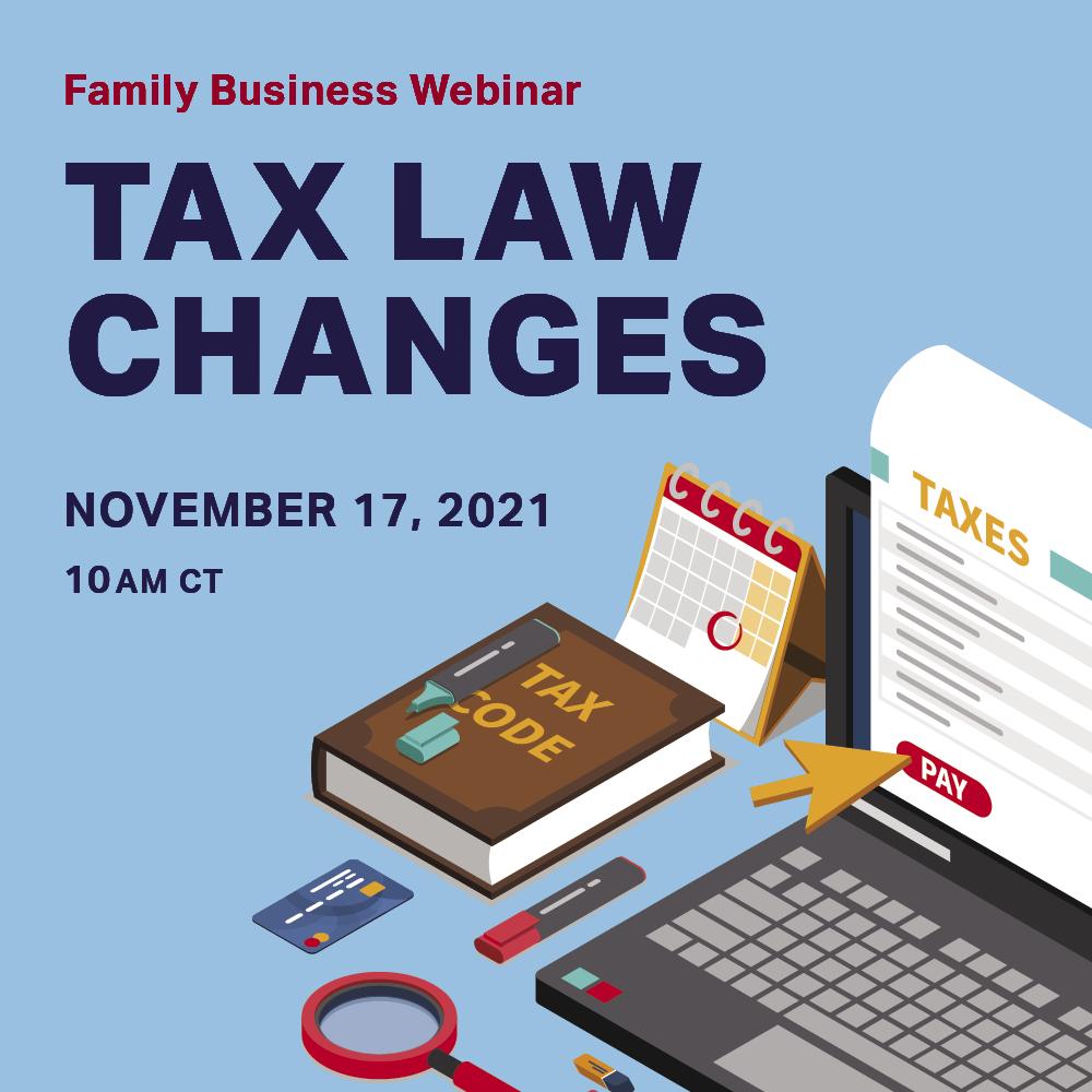 november webinar advertisement tax law changes